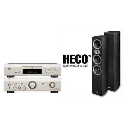 Artykuł DENON PMA-510 + DCD-510 + HECO VICTA II 701 z kategorii zestawy hi-fi