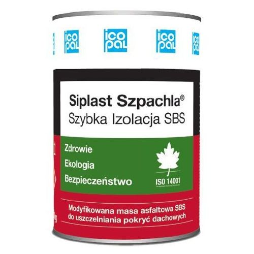 Siplast Szpachla Szybka Izolacja SBS 0,4kg (izolacja i ocieplenie)
