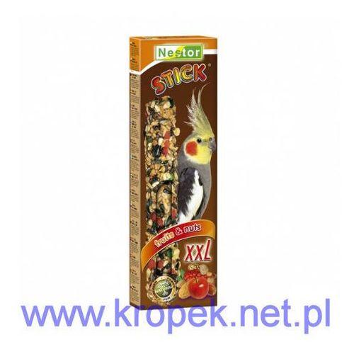 NESTOR Kolba XXL z owocami i orzechami dla średnich papug, Nestor