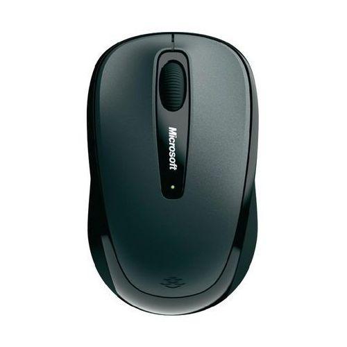 Microsoft Mysz laserowa  3500, bezprzewodowa, radiowa, 1000 dpi, czarna, BlueTrack, 10 m z kat. myszy, trackballe i wskaźniki