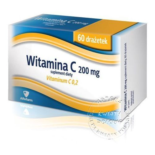 [tabletki] VITAMINUM C 200 mg 60 tabletek