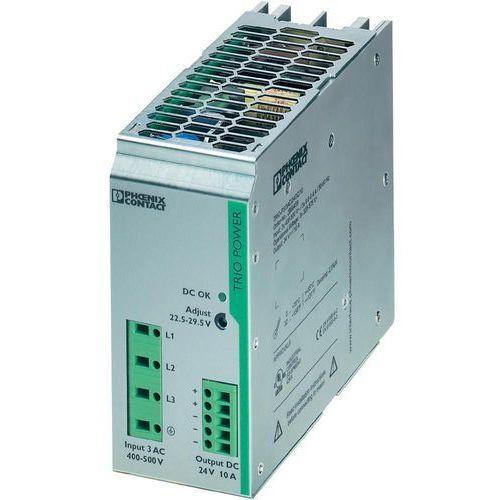 Artykuł Zasilacz na szynę Phoenix Contact TRIO-PS/3AC/24DC/10, 24 V, 10 A z kategorii transformatory