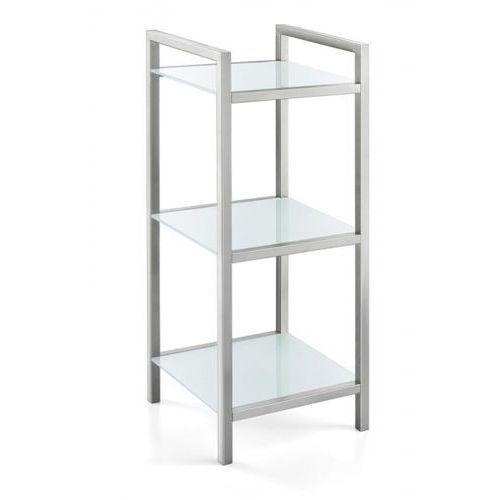 Zack CENIUS Regał Łazienkowy ze Szklanymi Półkami - produkt z kategorii- regały łazienkowe