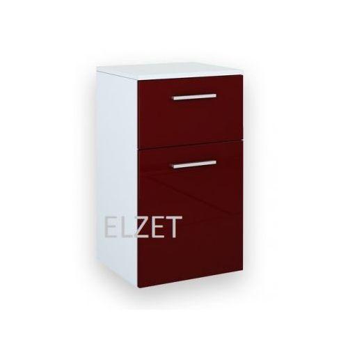ELITA Kwadro Red komoda (półsłupek) 162332 - produkt z kategorii- regały łazienkowe