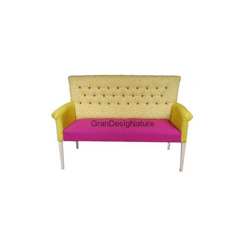 Sofa Kanapa designerska Bluckberry Romantic Provence Fuchsia