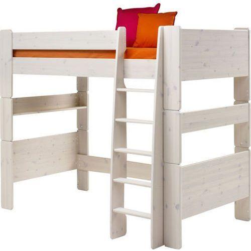 Łóżko piętrowe pojedyncze Steens for kids - sosna biel. szczotkowana ze sklepu Meble Pumo