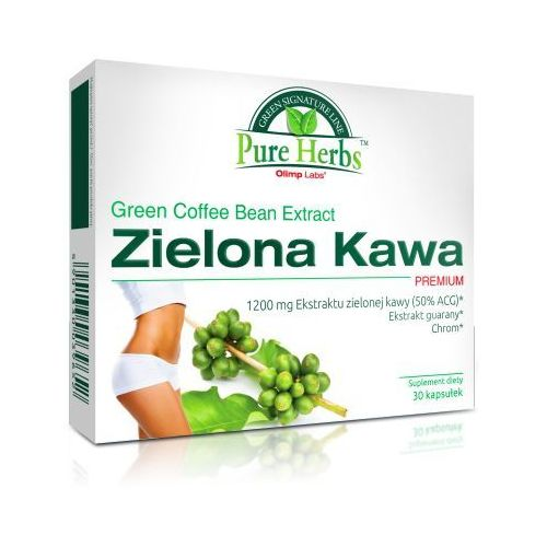 zielona kawa premium 30 kaps. wyprodukowany przez Olimp