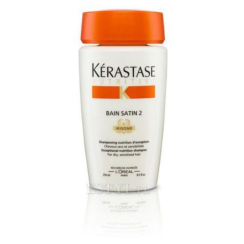 Kerastase Bain Satin 2 - Kąpiel odżywcza do włosów suchych, uwrażliwionych 250 ml - produkt z kategorii- odżywki do włosów