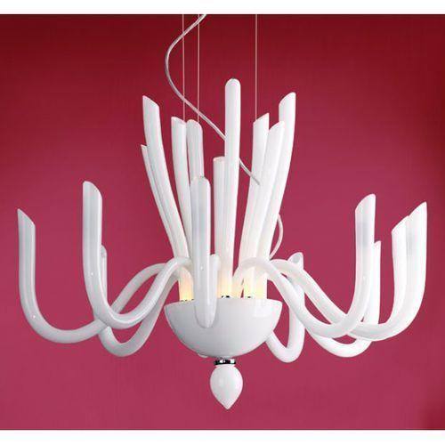LAMPA wisząca OPRAWA nowoczesna DO salonu KRABI MAXLIGHT P0029 rurki chrom biały - sprawdź w MLAMP.pl - Rozświetlamy Wnętrza