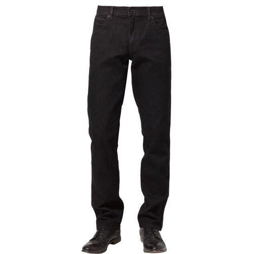 Produkt z kategorii- spodnie męskie - Wrangler TEXAS STRETCH Jeansy Straight leg czarny