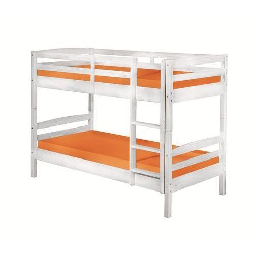 Łóżko piętrowe Caterina biały 200x102 cm ze sklepu FUTURI Nowoczesne Meble