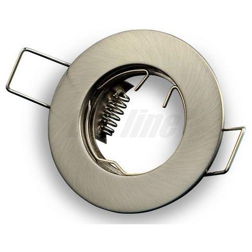 LED line Oprawa oprawka led halogenowa stała okrągła kolor satyna 3004 z kategorii oświetlenie
