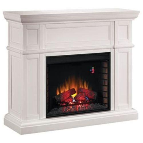 82839527 Kominek elektryczny z obudową Classic Flame Artesian (kolor: biały) - oferta [b561e402511213a3]