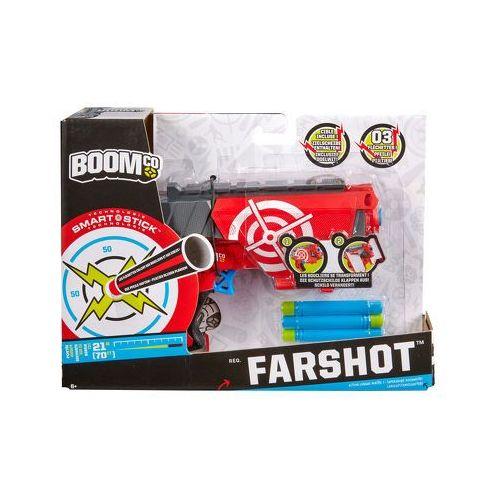 Produkt MATTEL BOOMco Wyrzutnia Farshot, marki Mattel