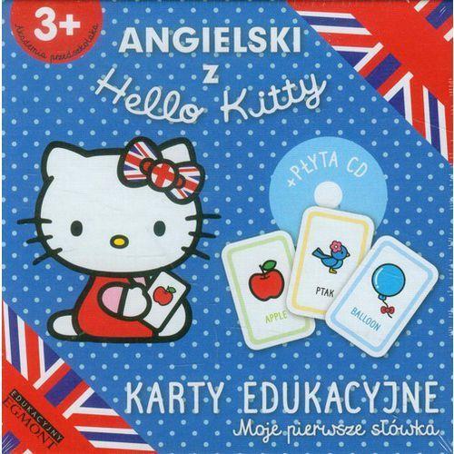 Angielski z Hello Kitty Karty edukacyjne Moje pierwsze słówka - oferta [45b5487b77c585ec]