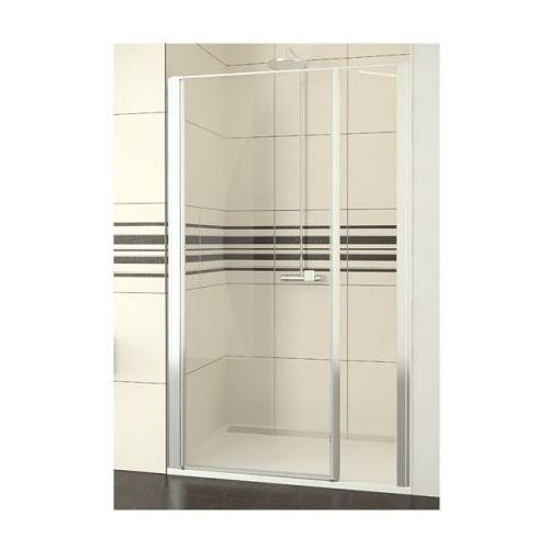 Oferta SanSwiss Swing-Line SL31 Drzwi prysznicowe 80 cm ze ścianką stałą w linii SL3108005007 (drzwi prysz