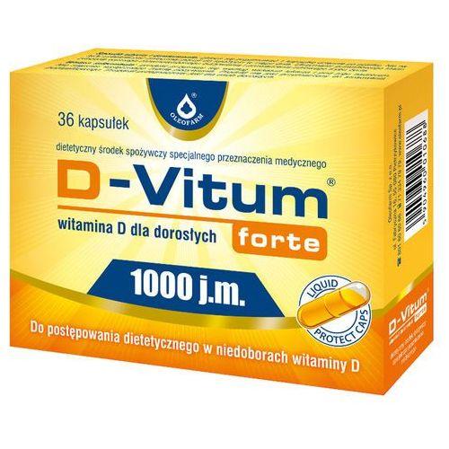 D-Vitum Forte Wit. D d/dor.x 36 kaps., postać leku: kapsułki