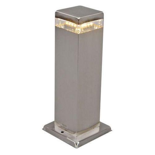 Lampa zewnętrzna Satin Square 30cm stal LED