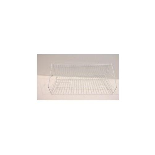 Produkt z kategorii- suszarki do naczyń - Ociekacz lakierowany 1-poziomowy 50 cm + rynna