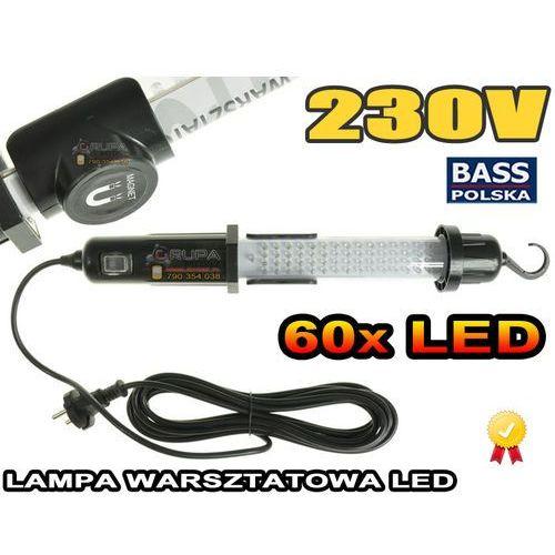 Oferta LAMPA WARSZTATOWA 60 LED 230V z kat.: oświetlenie