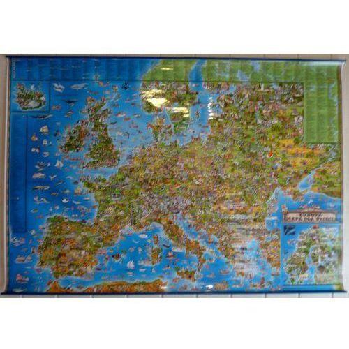 Europa w obrazkach. Mapa ścienna dla dzieci wyd. , produkt marki ExpressMap