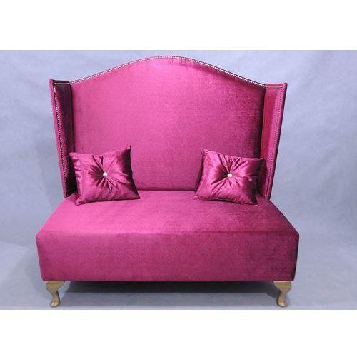 Sofa Pompadur Velvet Amarant, Kolekcja Happy Barok