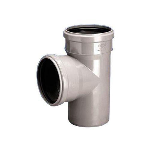 Trójnik PVC-U kan. wew. 75x75/88 p HT WAVIN ()