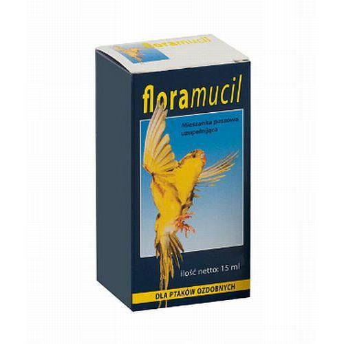Eurowet FLORAMUCIL mieszanka witaminowa dla ptaków ozdobnych 15ml