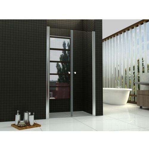 Oferta REA - Drzwi prysznicowe WESTERN SPACE z powłaką Easy Clean (drzwi prysznicowe)