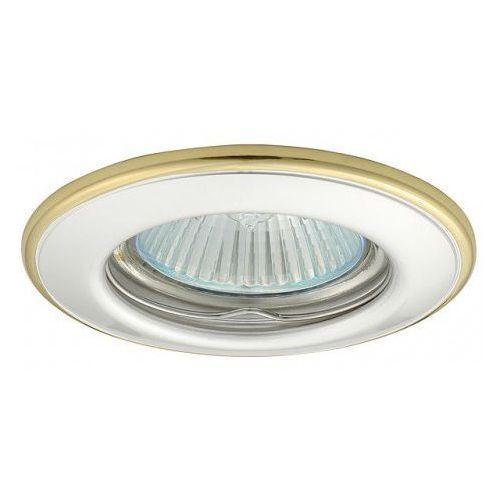 Kobi Oprawa oprawka led halogenowa stała okrągła kolor perła/złoty OH114 4327 z kategorii oświetlenie