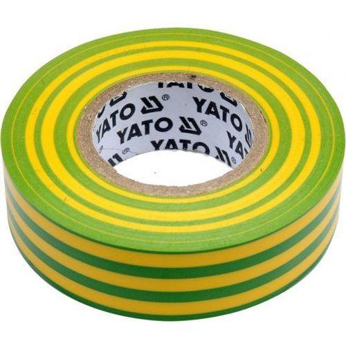 Taśma elektroizolacyjna 19mmx20mx0,13mm, żółto-zielona / SZYBKA WYSYŁKA / BEZPŁATNY ODBIÓR: WROCŁAW, kup u jednego z partnerów