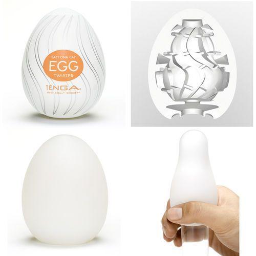 TENGA Masturbator - Jajko Egg Twister (6 sztuk) - oferta [252e6223f59564f2]