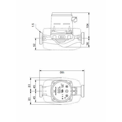 Towar Grundfos ALPHA2 25-60 pompa obiegowa 97993201 z kategorii pompy cyrkulacyjne