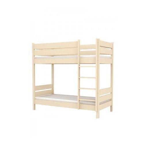 Łóżko piętrowe L2 90/200 - Baggi Decco - Cream ze sklepu DecoMania.pl