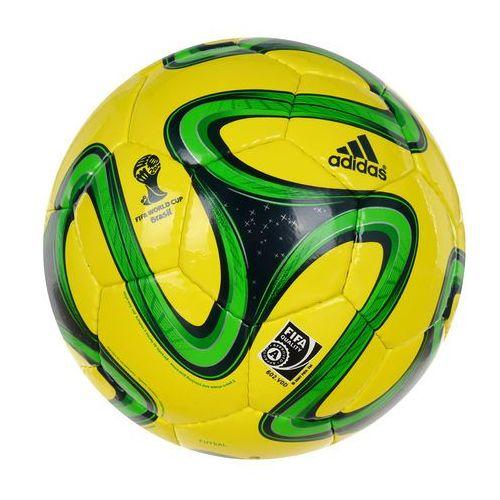 Piłka Nożna  Brazuca Sala 65 Futsal halowa Fifa Quality, produkt marki Adidas