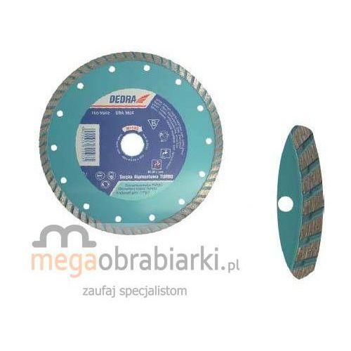DEDRA Tarcza Turbo, równa krawędź 230 mm H1104 RATY 0,5% NA CAŁY ASORTYMENT DZWOŃ 77 415 31 82 ze sklepu Megaobrabiarki - zaufaj specjalistom