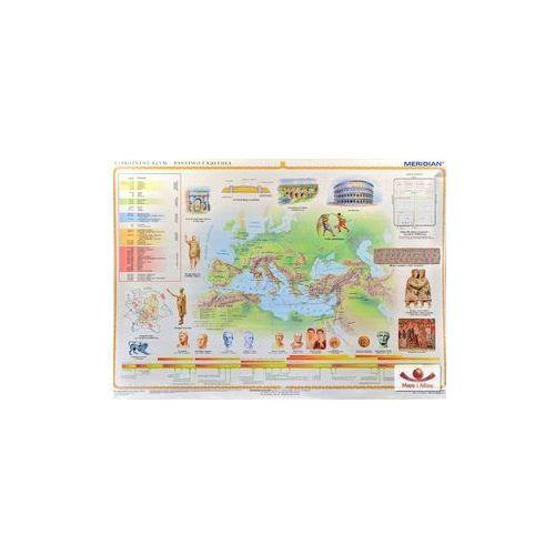 Produkt Starożytny Rzym - państwo i kultura. Mapa ścienna., marki Meridian