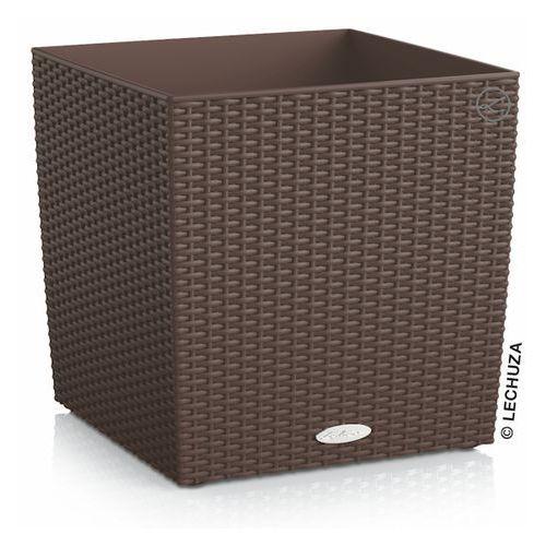 Donica Lechuza Cube Cottage mokka, produkt marki Produkty marki Lechuza