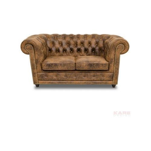 Oxford Vintage Rivet Sofa 2 Osobowa - 43740, Kare Design