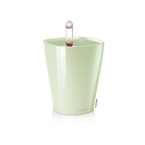 Donica  Mini Deltini - Miętowa zieleń, połysk - miętowa zieleń, produkt marki Lechuza