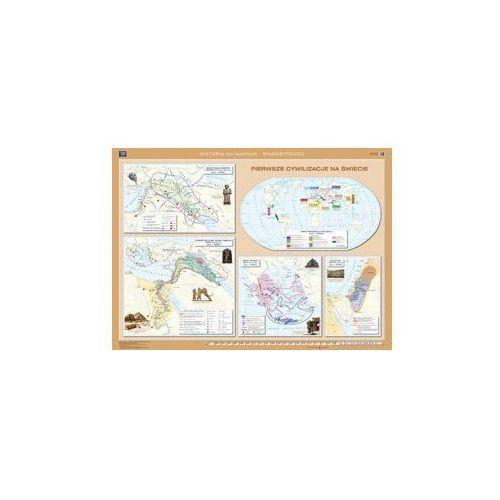 Produkt Pierwsze cywilizacje / Pierwsze cywilizacje Dalekiego Wschodu, Ameryki Środkowej i Południowej. Mapa ścienna. , marki Nowa Era