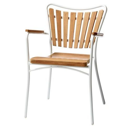 Krzesło ogrodowe Cinas Hard&Ellen teak ze sklepu All4home