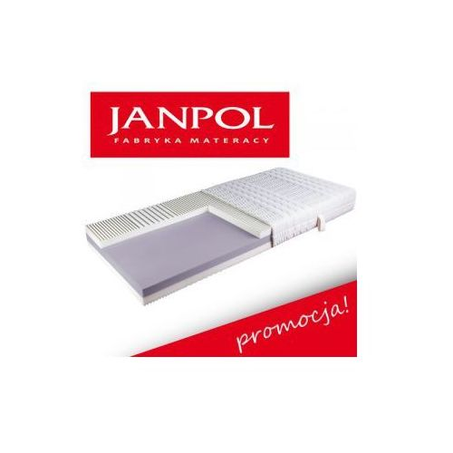 Materac DEJMOS, Rozmiar - 160x200, Pokrowce - Jersey - Dostawa 0zł, GRATISY i RABATY do 20% !!!, produkt marki Janpol
