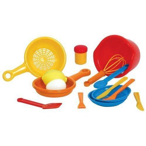 Zestaw do Gotowania 3 do zabawy dla dzieci - 15 elementów oferta ze sklepu www.epinokio.pl
