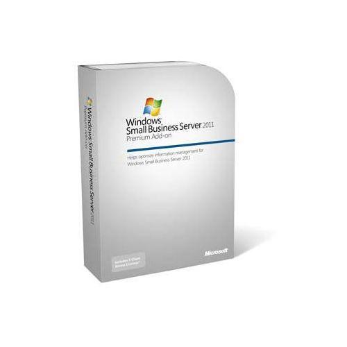 Produkt z kategorii- pozostałe oprogramowanie - Windows® Sbs 2011 Premium Add-on (1-4 Cpu, 5 Cal) Rok - German