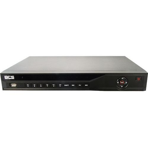 BCS-NVR1602-P Rejestrator IP sieciowy 16 kanałowy, D1, 720P, 1080P, HDMI, VGA, USB 2.0, 2 x HDD, wbudowany 4-portowy switch PoE