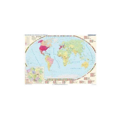 Produkt Pielgrzymki Jana Pawła II. Życie i dzieło Jana Pawła II. Mapa ścienna, marki Meridian