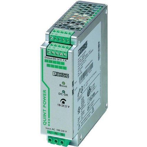 Artykuł Zasilacz na szynę Phoenix Contact QUINT-PS/1AC/24DC/5, 24 V, 5 A z kategorii transformatory