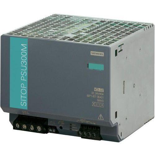 Artykuł Zasilacz na szynę Siemens SITOP PSU300M, 24 V, 20 A z kategorii transformatory
