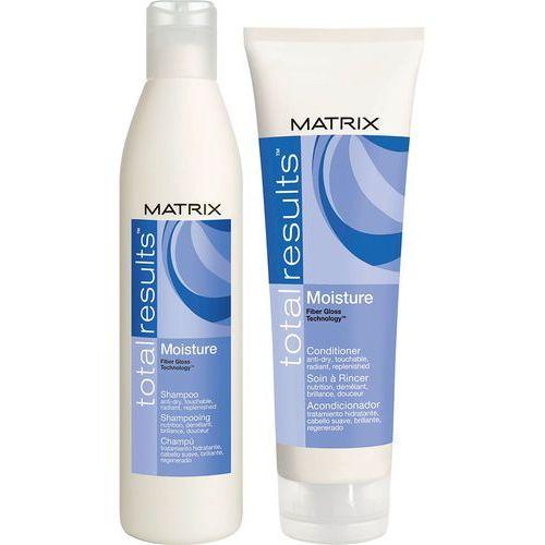 Matrix Total Results Moisture - Zestaw nawilżający do włosów suchych: Szampon 300ml + Odżywka 250ml - produkt z kategorii- odżywki do włosów